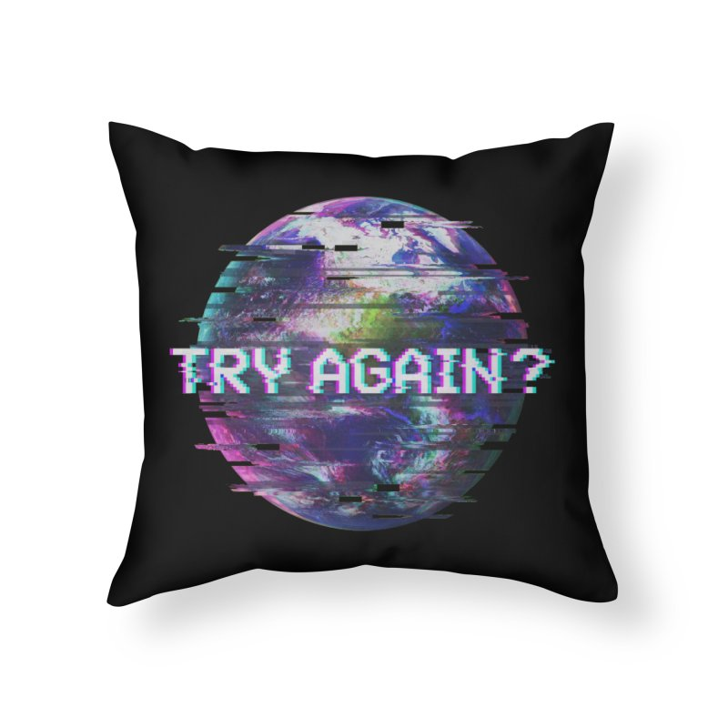 Humanity Glitch Home Throw Pillow by MidnightCoffee
