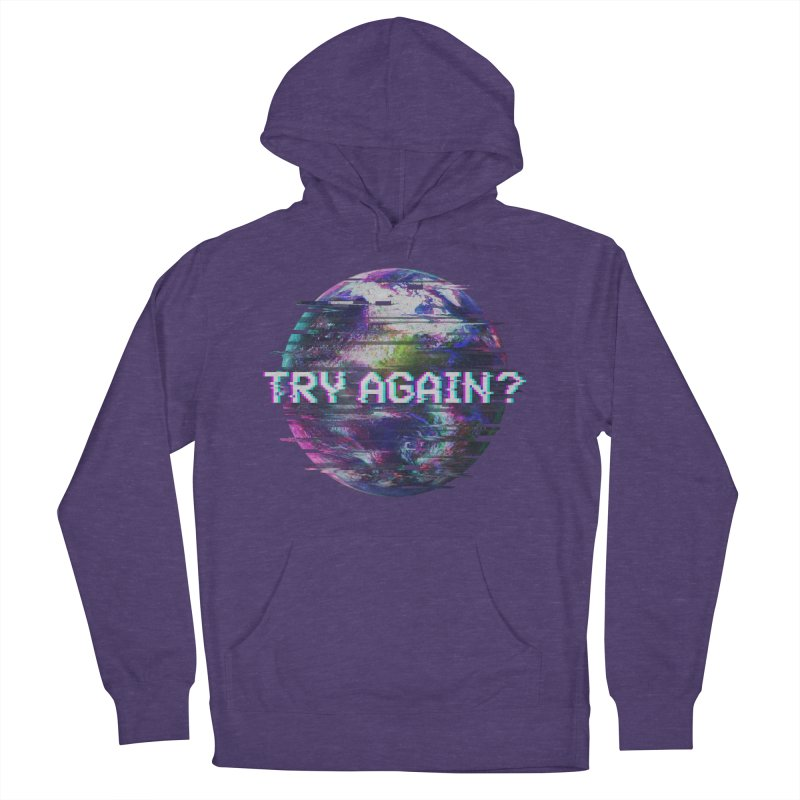 Humanity Glitch Women's French Terry Pullover Hoody by MidnightCoffee