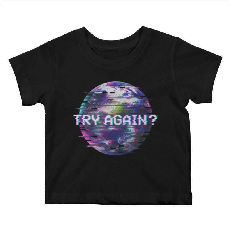 Humanity Glitch Kids Baby T-Shirt by MidnightCoffee