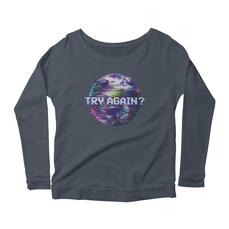 Humanity Glitch Women's Scoop Neck Longsleeve T-Shirt by MidnightCoffee