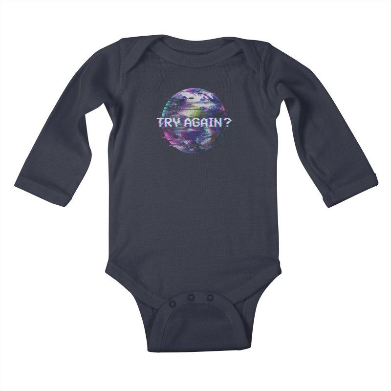 Humanity Glitch Kids Baby Longsleeve Bodysuit by MidnightCoffee