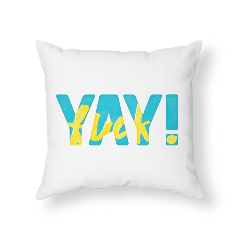 Pursuit of Happiness Home Throw Pillow by MidnightCoffee