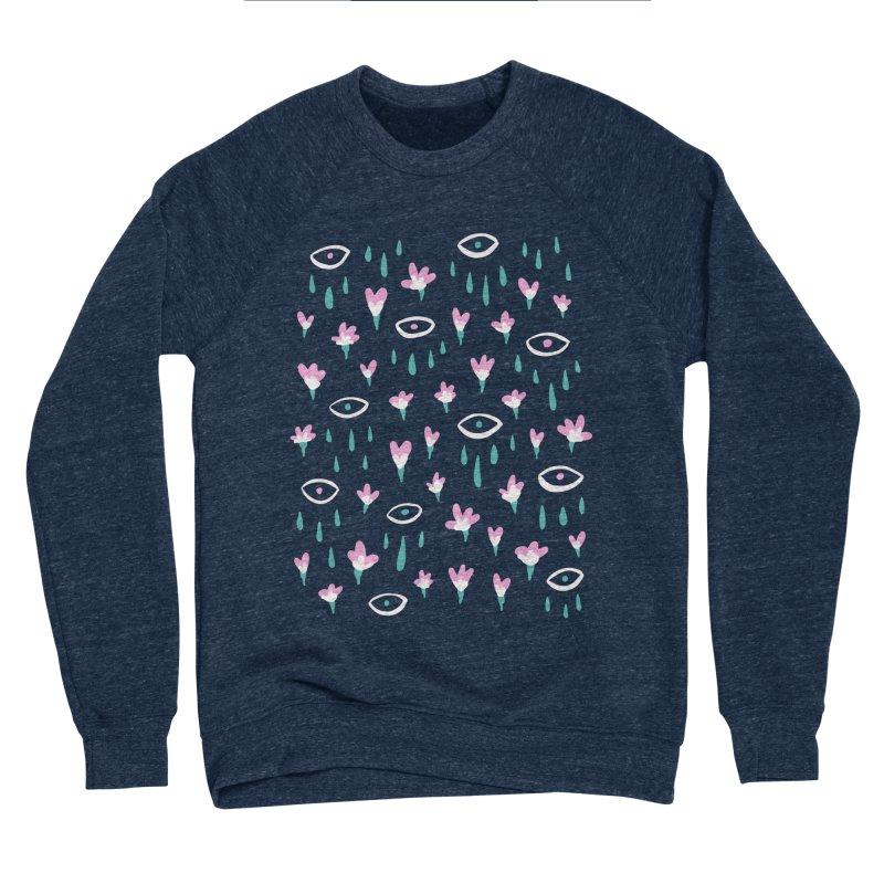 Let It Rain Men's Sponge Fleece Sweatshirt by MidnightCoffee