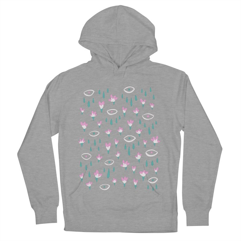 Let It Rain Women's French Terry Pullover Hoody by MidnightCoffee