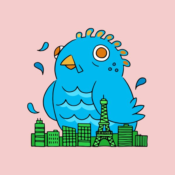 image for Jumbo bird is destroying the city!