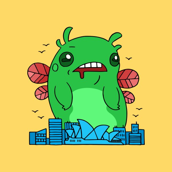 image for Huge insectoid is destroying the city!