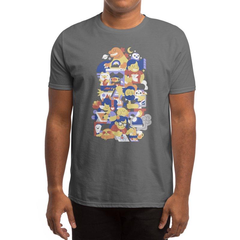 Threadless Saga Men's T-Shirt by Midnight Etude