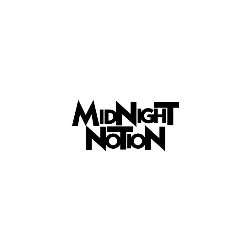 Midnight Notion Text Logo (Black) by Midnight Notion Merch Store