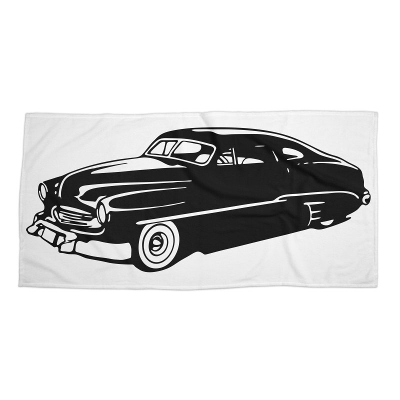 The Coupe Accessories Beach Towel by Midnight Studio