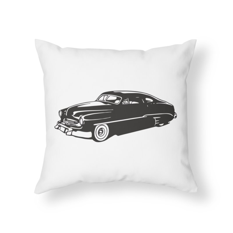 The Coupe Home Throw Pillow by Midnight Studio