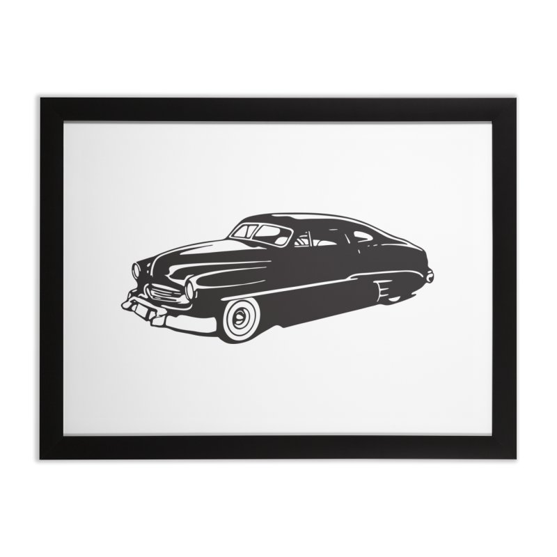 The Coupe Home Framed Fine Art Print by Midnight Studio