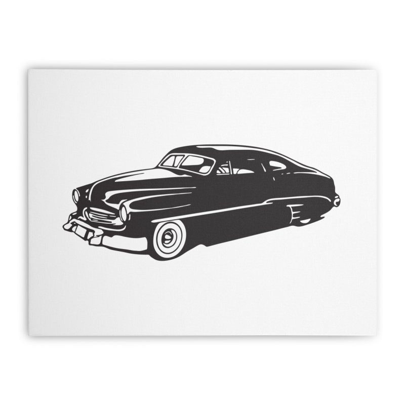 The Coupe Home Stretched Canvas by Midnight Studio