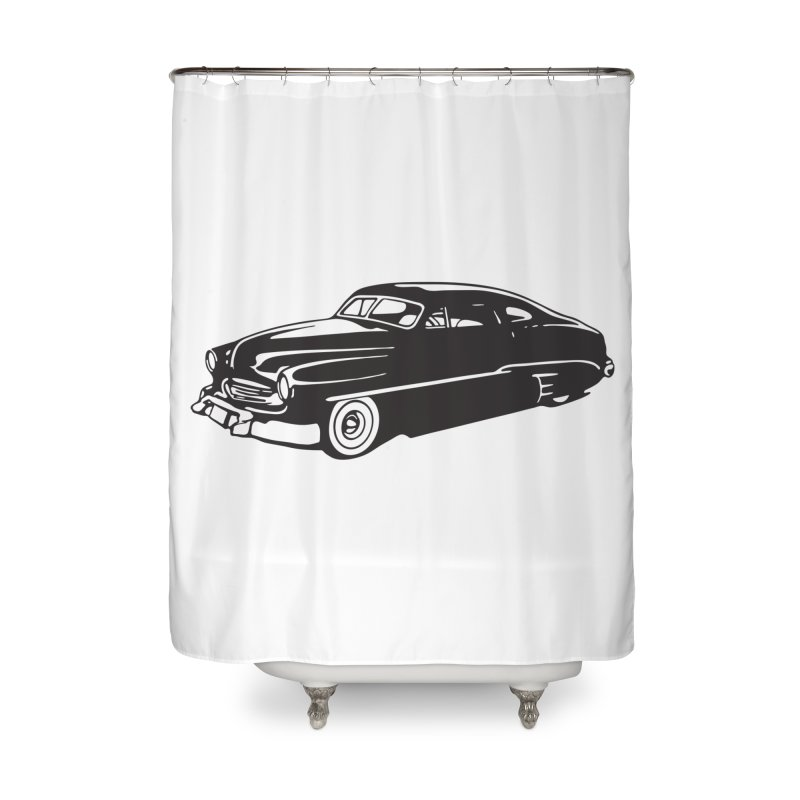 The Coupe in Shower Curtain by Midnight Studio