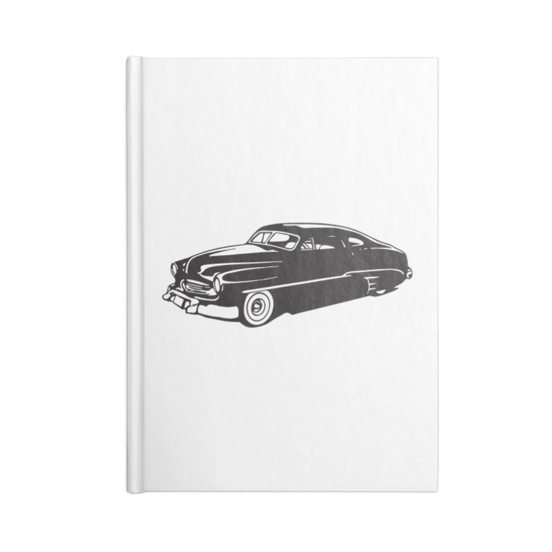 The Coupe Accessories Blank Journal Notebook by Midnight Studio