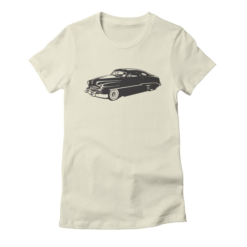 The Coupe Women's Fitted T-Shirt by Midnight Studio