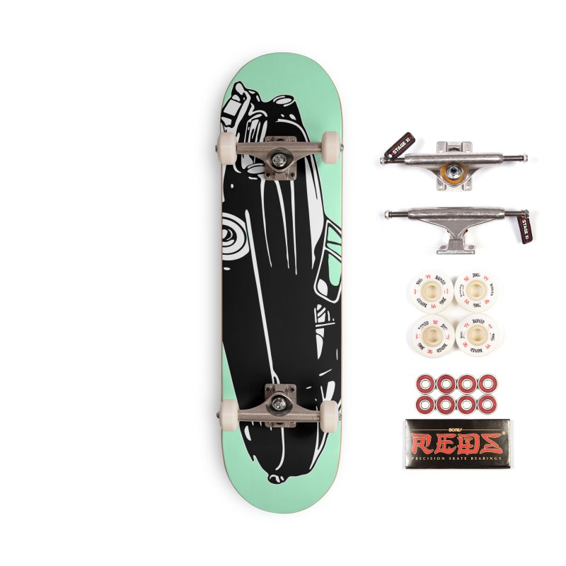 The Coupe Accessories Complete - Pro Skateboard by Midnight Studio