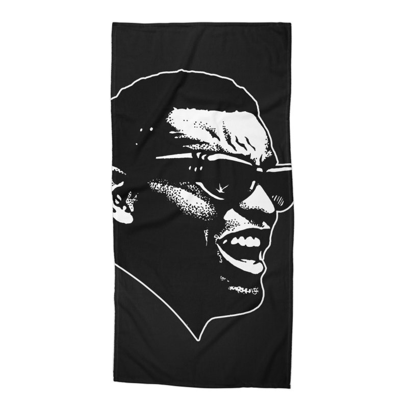 Brother Ray Accessories Beach Towel by Midnight Studio