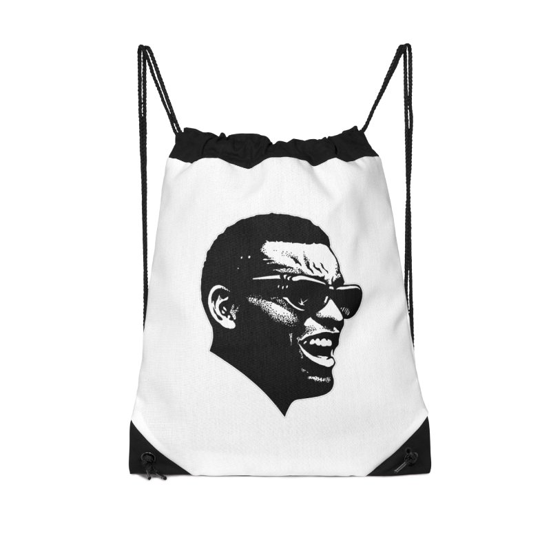 Brother Ray Accessories Drawstring Bag Bag by Midnight Studio