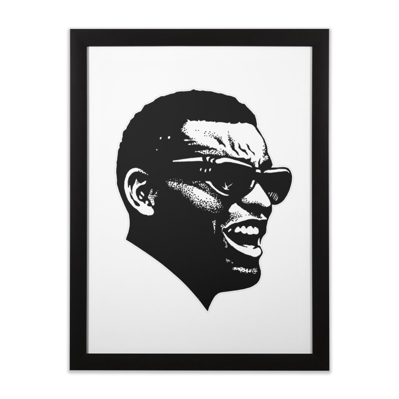 Brother Ray Home Framed Fine Art Print by Midnight Studio