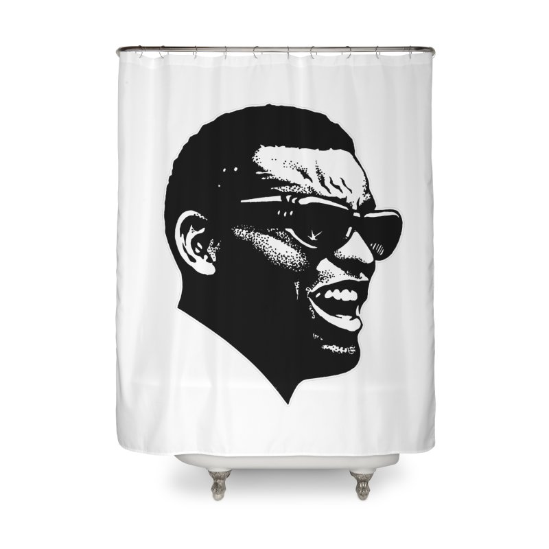 Brother Ray Home Shower Curtain by Midnight Studio