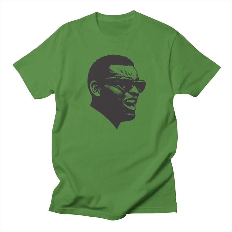 Brother Ray Women's Regular Unisex T-Shirt by Midnight Studio