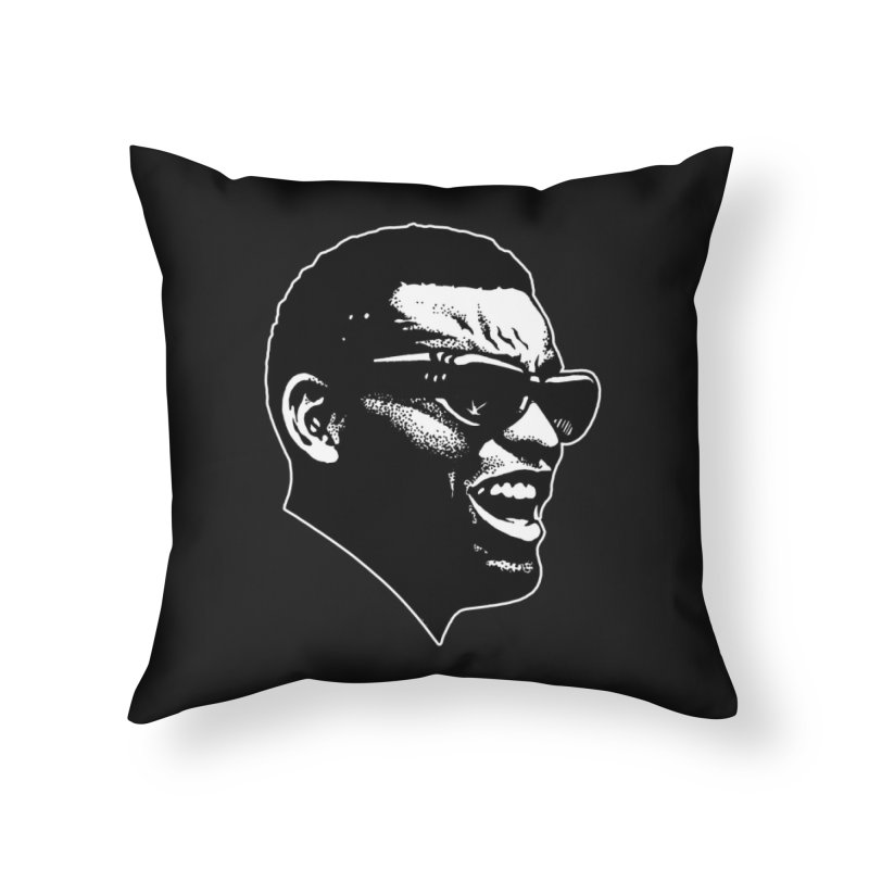 Brother Ray Home Throw Pillow by Midnight Studio