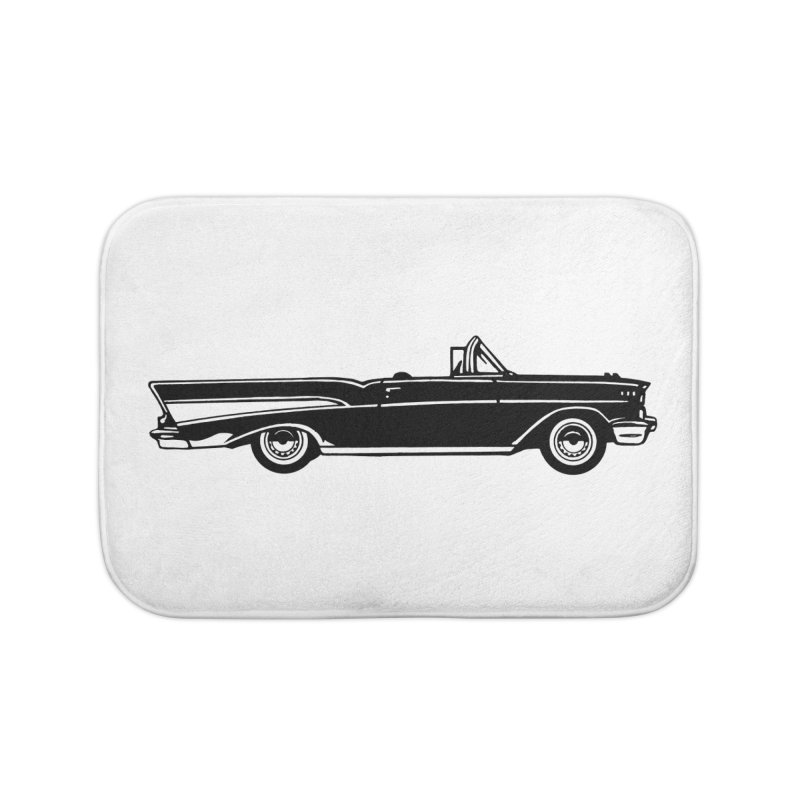 '57 Chevy Home Bath Mat by Midnight Studio