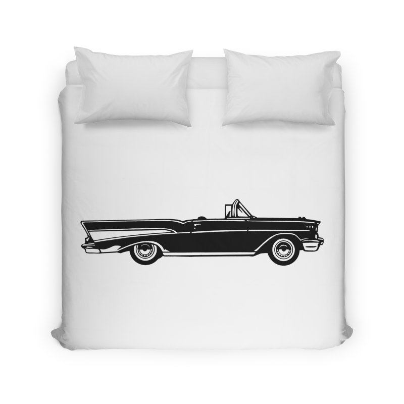 '57 Chevy Home Duvet by Midnight Studio