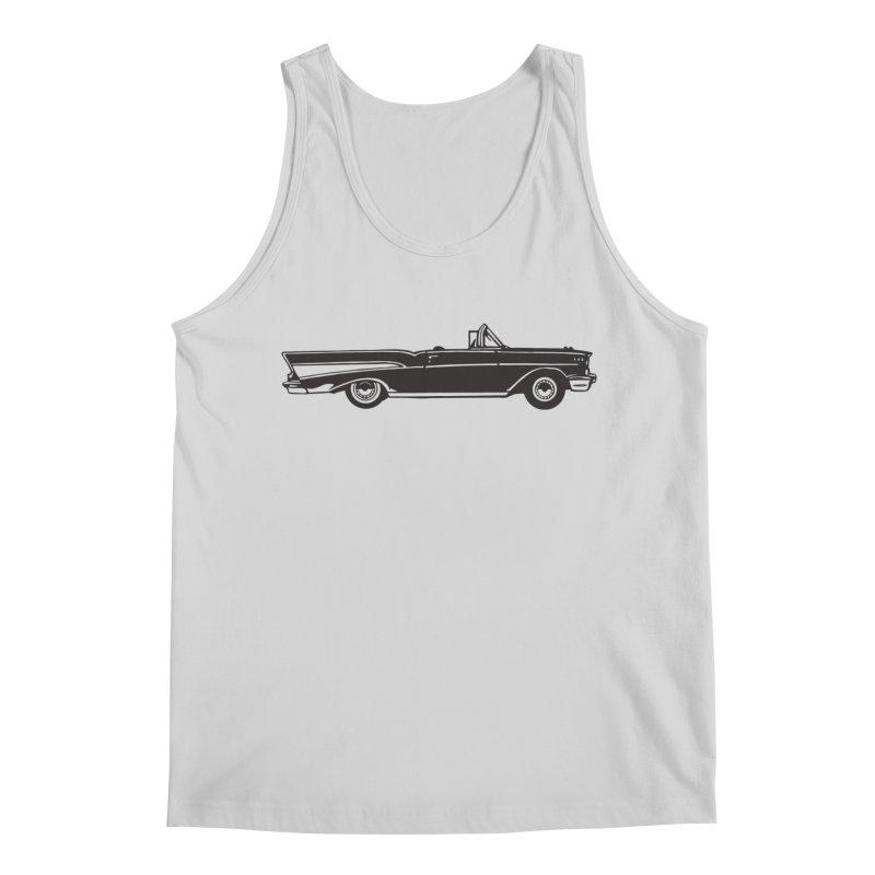1957 Chevy Bel Air Men's Regular Tank by Midnight Studio