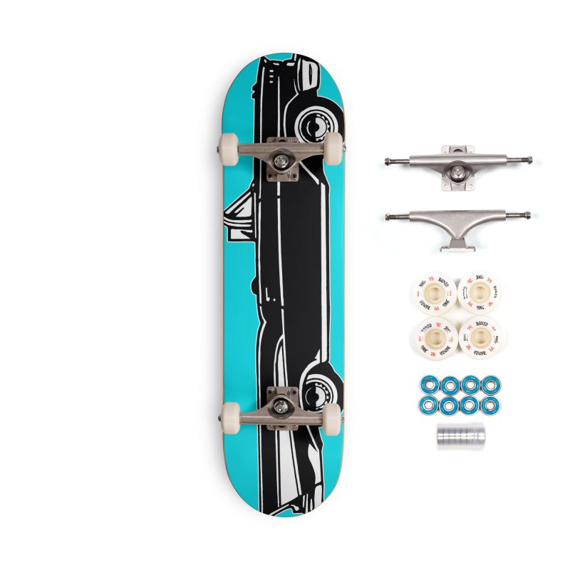 1957 Chevy Bel Air Accessories Complete - Premium Skateboard by Midnight Studio