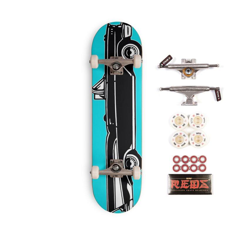 1957 Chevy Bel Air Accessories Skateboard by Midnight Studio