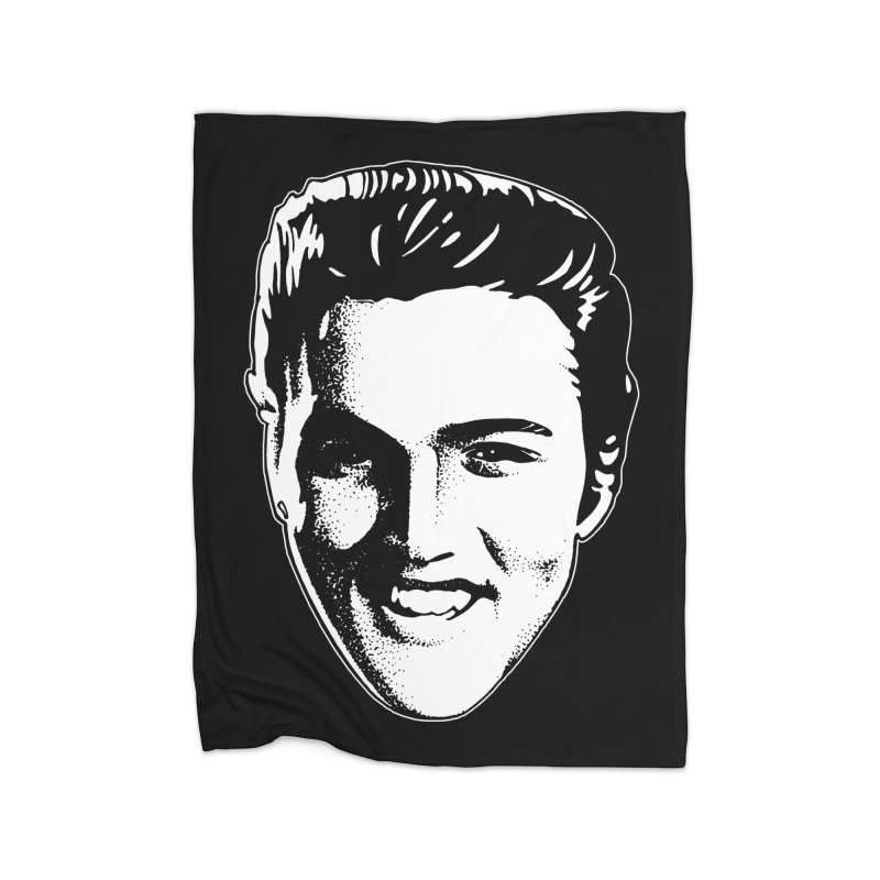 The King Home Fleece Blanket Blanket by Midnight Studio