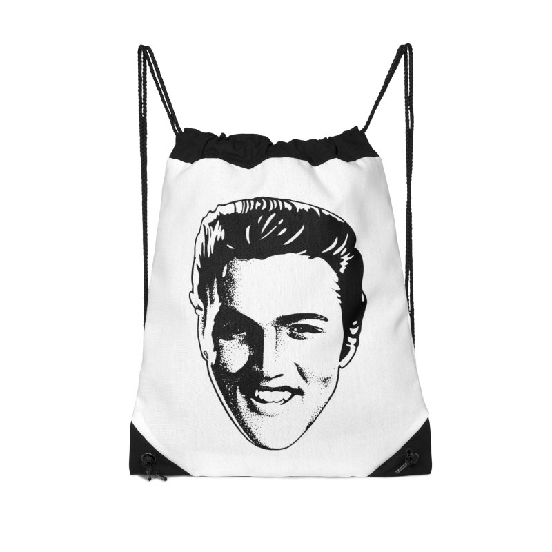 The King Accessories Drawstring Bag Bag by Midnight Studio