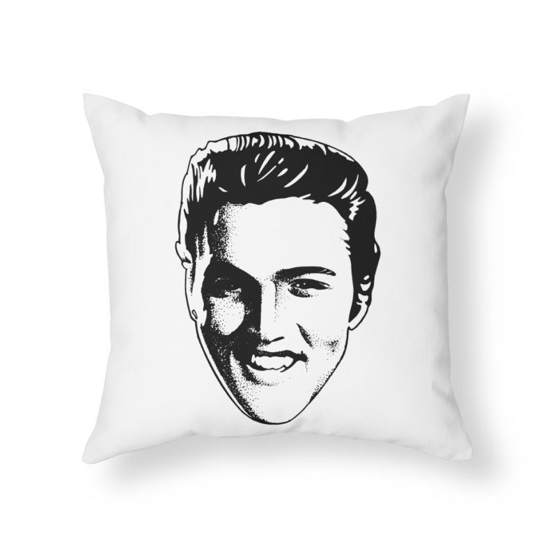 The King Home Throw Pillow by Midnight Studio