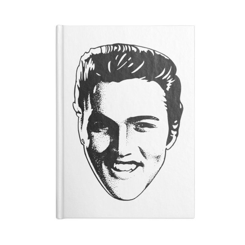 The King Accessories Lined Journal Notebook by Midnight Studio