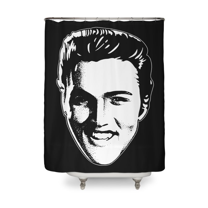 The King Home Shower Curtain by Midnight Studio