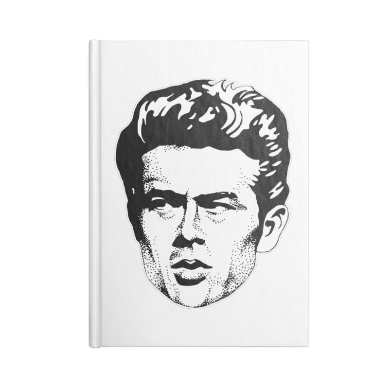 Rebel Accessories Blank Journal Notebook by Midnight Studio