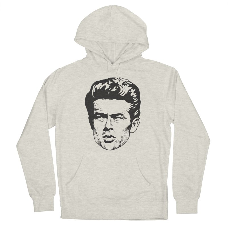 Rebel Men's French Terry Pullover Hoody by Midnight Studio