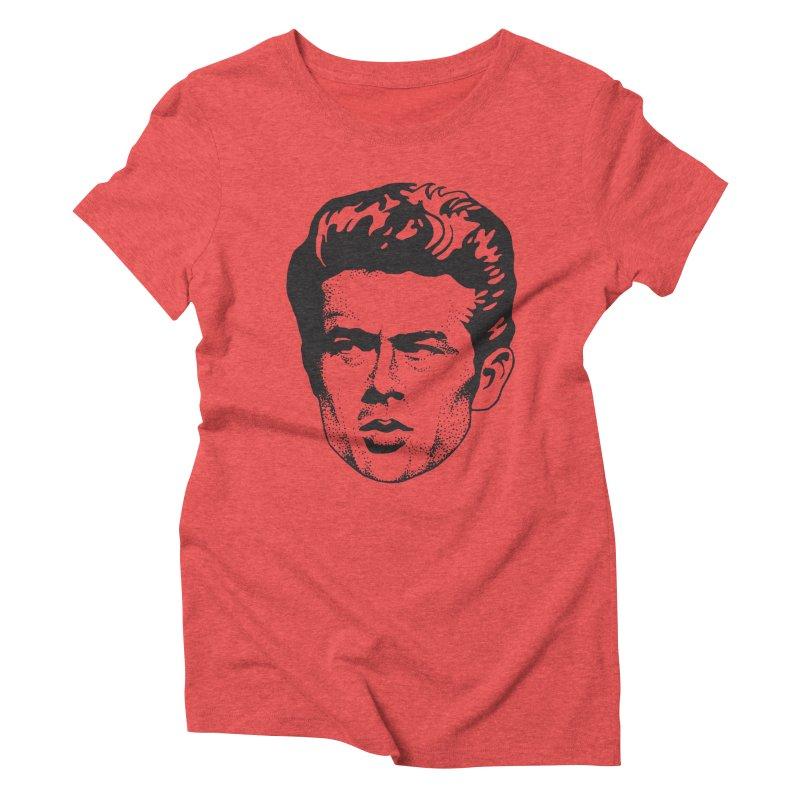 Rebel Women's Triblend T-Shirt by Midnight Studio