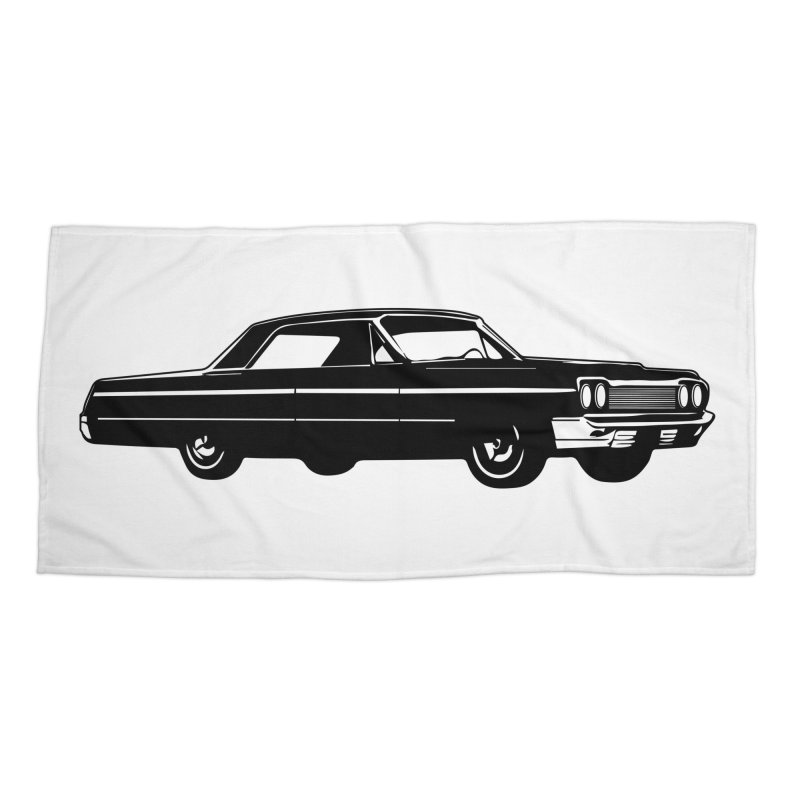 '64 Impala Accessories Beach Towel by Midnight Studio