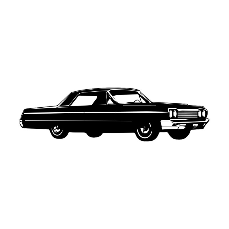 '64 Impala Home Bath Mat by Midnight Studio