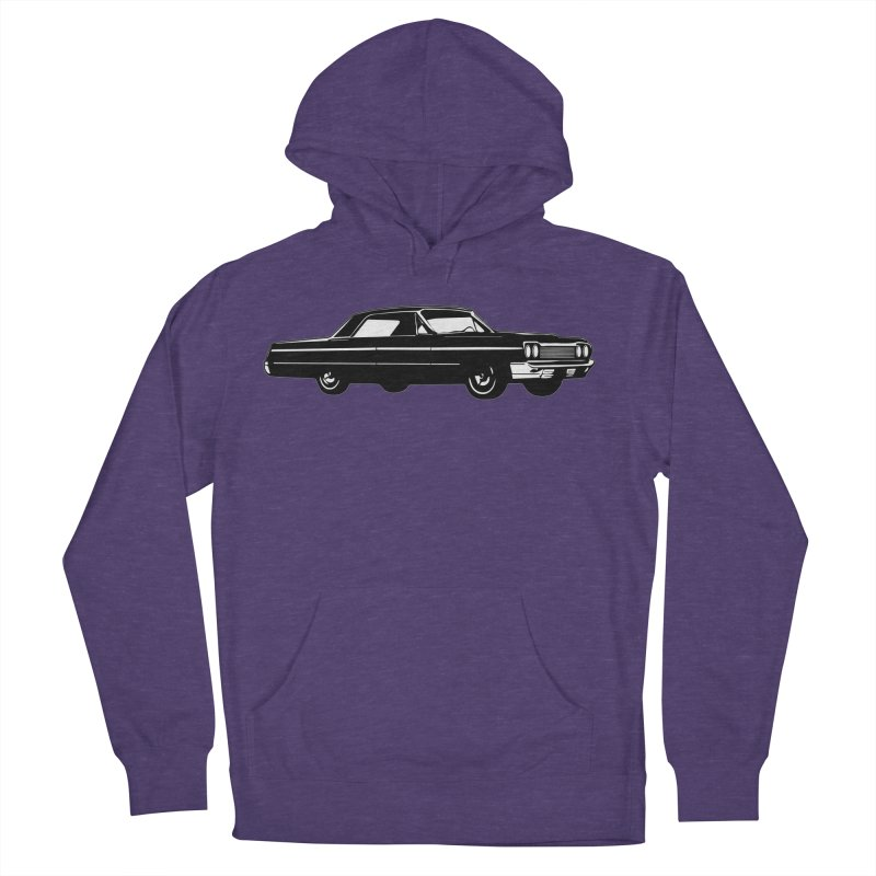 '64 Impala Women's French Terry Pullover Hoody by Midnight Studio