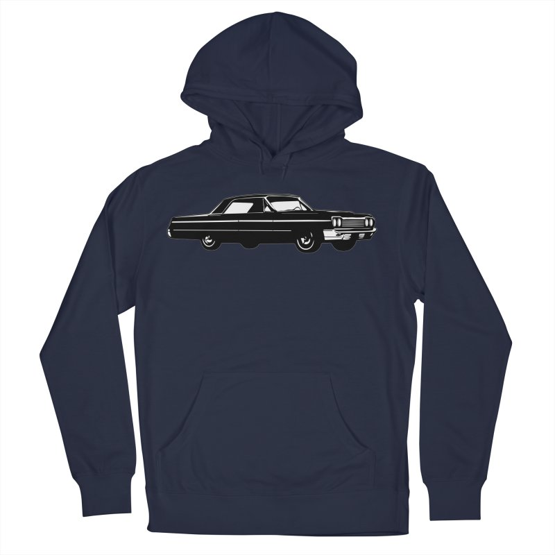 '64 Impala Men's French Terry Pullover Hoody by Midnight Studio