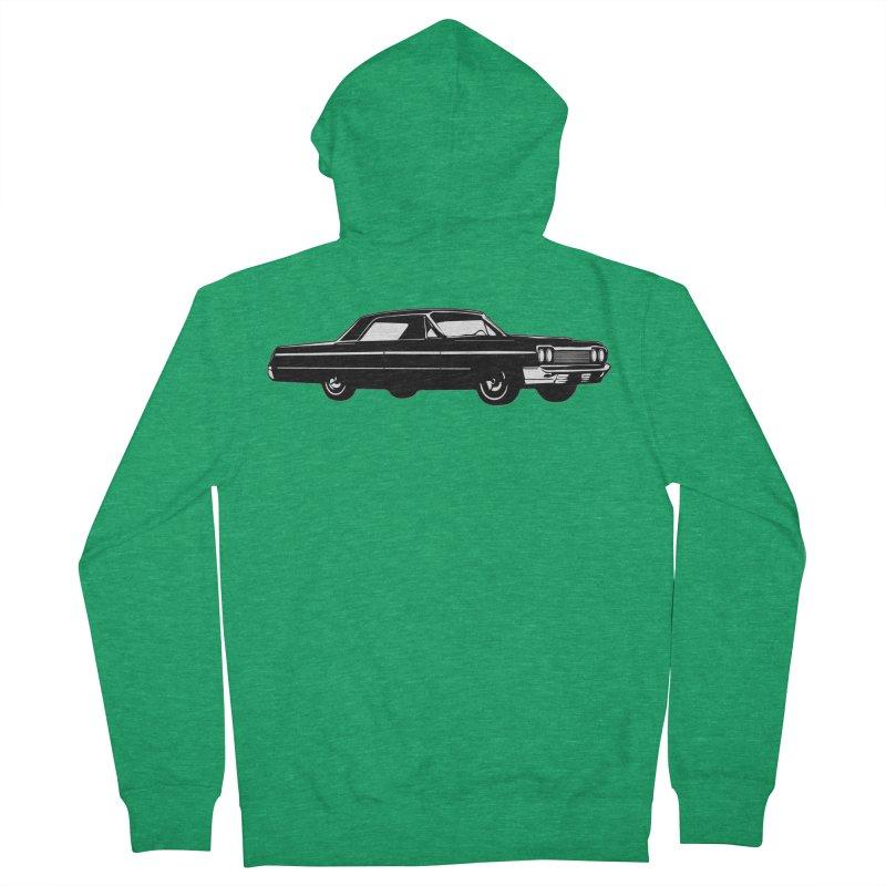 '64 Impala Men's Zip-Up Hoody by Midnight Studio