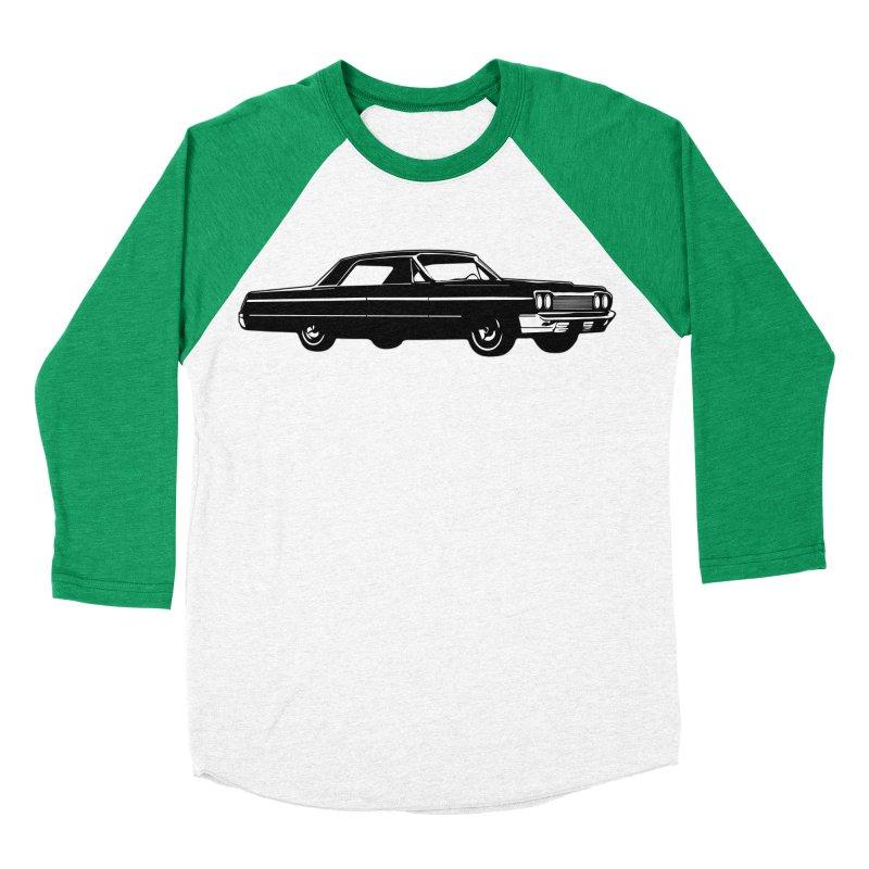 '64 Impala Women's Baseball Triblend T-Shirt by Midnight Studio