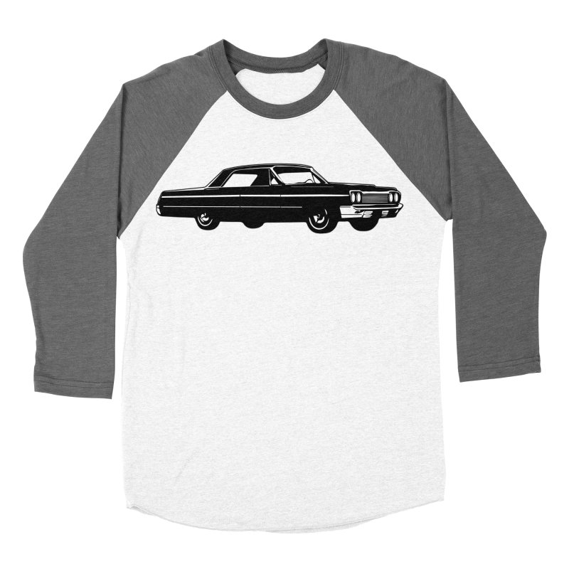 '64 Impala Men's Baseball Triblend Longsleeve T-Shirt by Midnight Studio