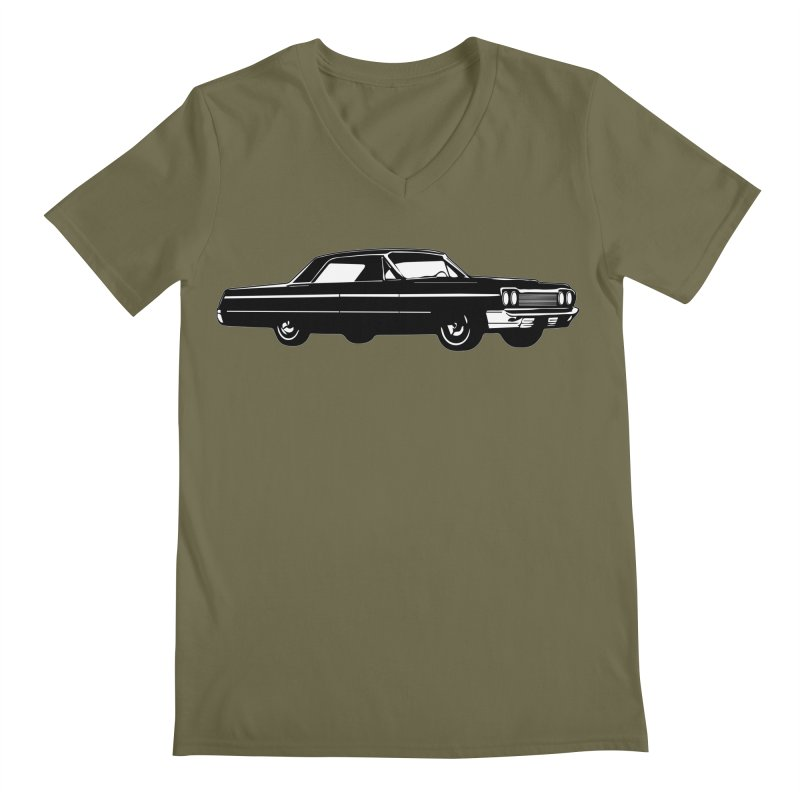 '64 Impala Men's Regular V-Neck by Midnight Studio