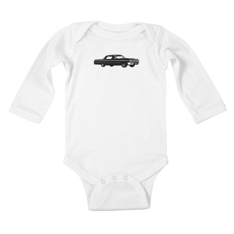 '64 Impala Kids Baby Longsleeve Bodysuit by Midnight Studio
