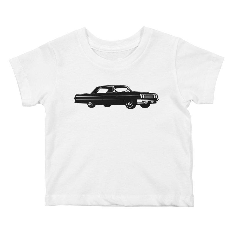 '64 Impala Kids Baby T-Shirt by Midnight Studio