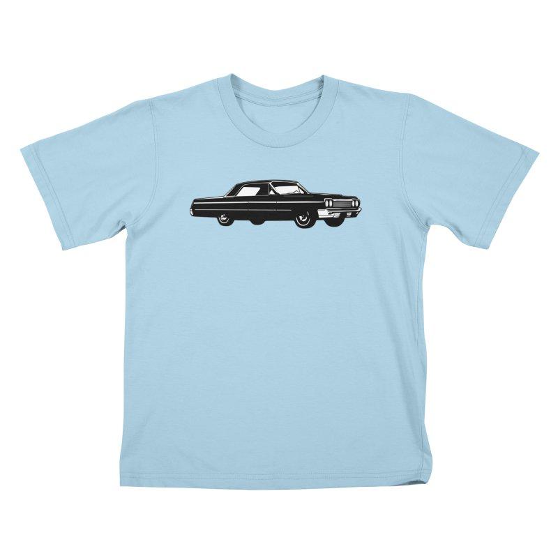 '64 Impala Kids T-Shirt by Midnight Studio